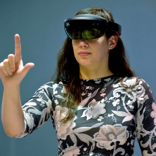 AR brýle Microsoft Hololens